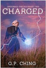 Cover art, and Amish girl with lightning coming from her hand